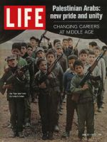 Life Magazine, June 12, 1970 - Palestinian training camp for kids