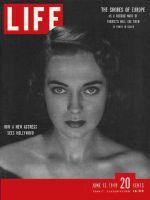Life Magazine, June 13, 1949 - Marta Toren