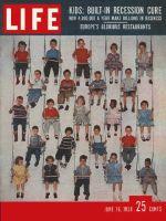 Life Magazine, June 16, 1958 - Kids in swings