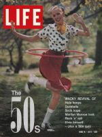 Life Magazine, June 16, 1972 - Girl with Hula Hoop
