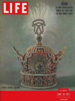 Life Magazine, June 18, 1951 - Iran's royal crown