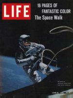 Life Magazine, June 18, 1965 - Astronaut Ed White during spacewalk