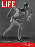 Life Magazine, June 19, 1939 - USC sprinter