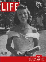 Life Magazine, June 20, 1949 - Hillsdale High graduate