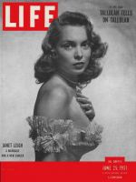 Life Magazine, June 25, 1951 - Janet Leigh