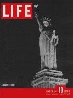 Life Magazine, June 26, 1944 - Statue of Liberty