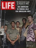 Life Magazine, June 26, 1970 - Americans in Spanish prison