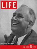 Life Magazine, June 27, 1938 - Franklin D. Roosevelt
