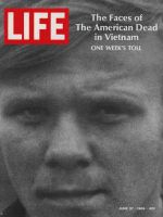 Life Magazine, June 27, 1969 - American dead in Vietnam