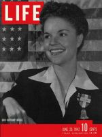 Life Magazine, June 29, 1942 - USO volunteer