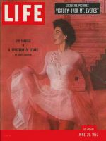 Life Magazine, June 29, 1953 - Cyd Charisse