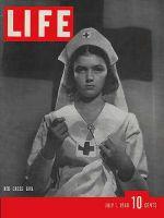 Life Magazine, July 1, 1940 - Red Cross meeting