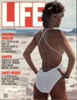 Life Magazine, July 1, 1982 - Raquel Welch in Bathing Suit.