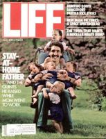 Life Magazine, July 1, 1984 - Dad With Quints