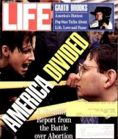 Life Magazine, July 1, 1992 - Abortion Wars