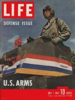 Life Magazine, July 7, 1941 - General Patton in tank