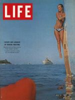 Life Magazine, July 9, 1965 - Yachting on the Riviera
