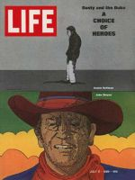 Life Magazine, July 11, 1969 - Dustin Hoffman and John Wayne