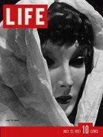 Life Magazine, July 12, 1937 - Mannequin
