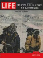 Life Magazine, July 13, 1953 - Conquest of Everest