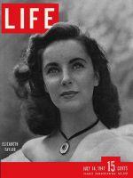Life Magazine, July 14, 1947 - Elizabeth Taylor
