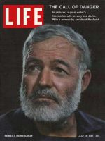 Life Magazine, July 14, 1961 - Ernest Hemingway obituary