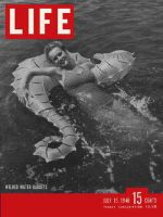 Life Magazine, July 15, 1946 - Woman floating in water