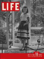 Life Magazine, July 17, 1944 - Peasant look fashions