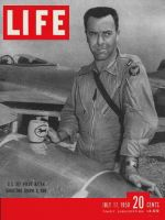 Life Magazine, July 17, 1950 - Pilot with jets, Korea