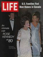 Life Magazine, July 17, 1970 - Ted, Rose, and Joan Kennedy