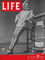 Life Magazine, July 20, 1942 - Woman in Short coat