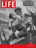 Life Magazine, July 20, 1953 - Kennedy and Bouvier