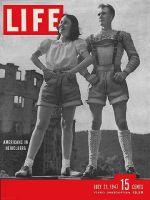 Life Magazine, July 21, 1947 - Yanks at Heidelberg