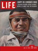 Life Magazine, July 21, 1958 - Roy Campanella