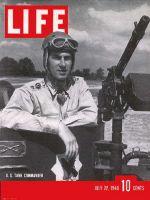 Life Magazine, July 22, 1940 - U.S. tank commander