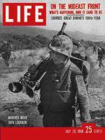 Life Magazine, July 28, 1958 - Marines go into Lebanon