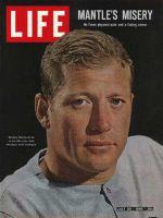 Life Magazine, July 30, 1965 - Mickey Mantle, baseball