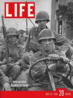 Life Magazine, July 31, 1950 - Soldiers in jeep, korea
