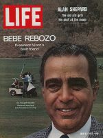 Life Magazine, July 31, 1970 - Nixon's friend Bebe Rebozo