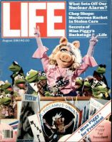 Life Magazine, August 1, 1980 - Miss Piggy, Muppets