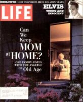 Life Magazine, August 1, 1993 - Elderly Parents