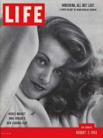 Life Magazine, August 3, 1953 - French actress Nicole Maurey