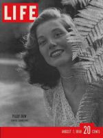Life Magazine, August 7, 1950 - Peggy Dow
