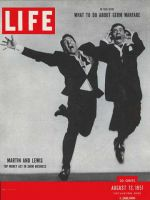 Life Magazine, August 13, 1951 - Dean Martin and Jerry Lewis