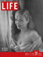 Life Magazine, August 15, 1949 - Actress Bryn Noring