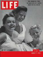 Life Magazine, August 17, 1953 - Hollywood sisters