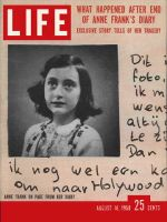 Life Magazine, August 18, 1958 - Anne Frank's fate