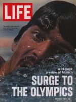 Life Magazine, August 18, 1972 - Olympic swimmer Mark Spitz