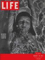 Life Magazine, August 20, 1951 - Swimmer Barbara Hobelmann