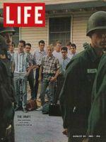 Life Magazine, August 20, 1965 - Draft inductees